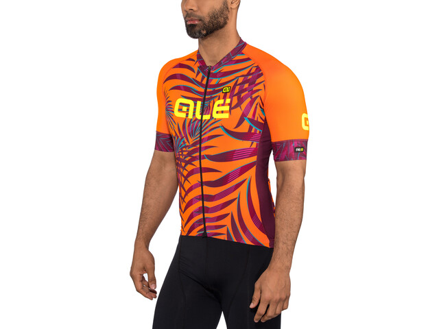 Alé Cycling Graphics PRR Sunset SS Jersey Herr flou orange-plum